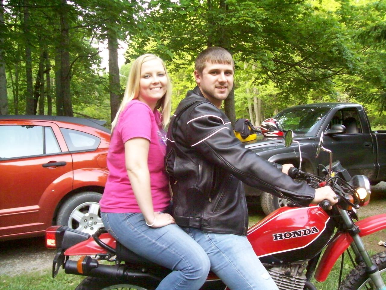 140f62d9f209 Chippy s First Motorcycle Ride - Fox Creek Leather