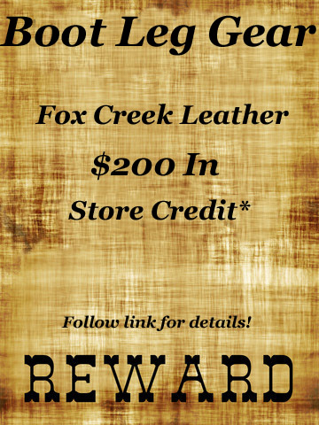 Boot Leg Fox Creek Leather Gear Reward