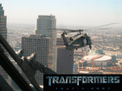 5 - Matt Flying in  Transformers Movie
